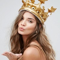 NPW Queen For the Day Inflatable Crown at asos.com