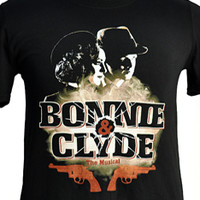 Broadway Merchandise Shop: Broadway Souvenirs and Apparel > Apparel > Bonnie & Clyde Show Shirt