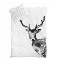 By Nord Deer Bed Duvet Cover & Pillow Set  | Occa-Home.co.uk
