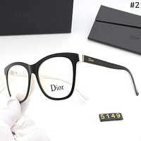 DIOR 2018 new high-end optical frame for men and women large box sunglasses #2