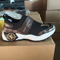 Louis Vuitton LV women's all-match casual sneakers shoes