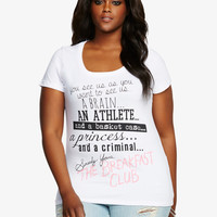 The Breakfast Club Quote Tee