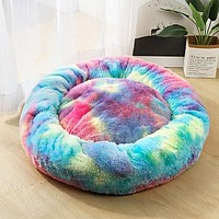 Tie Dye Pet Bed