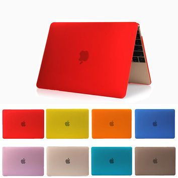Crystal/Matte Hard Full Housing Surface Protective Capa Laptop Cover Case for Apple Macbook Pro 13 15 Retina 12 11 Air 13 inch