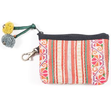 Vintage Hmong Hill Tribe Coin Purse (Thailand) - Style 8