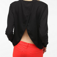 Urban Outfitters - Truly Madly Deeply Tulip Back Sweatshirt