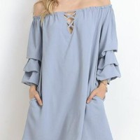 Pandora Off the Shoulder Dress
