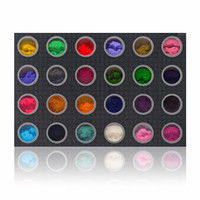 SHANY DIY Velvet Flocking powder 3D Nail Decoration - Set of 24 Colors