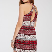 Elephant Paisley Print Dress