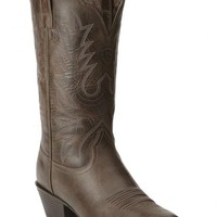 Ariat Heritage Western Chocolate Brown Cowgirl Boots - Round Toe - Sheplers