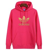 Trendsetter Adidas Women Man Fashion Print Sport Casual Top Sweater Pullover Hoodie