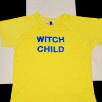 SWEET LORD O'MIGHTY! WITCH CHILD CROP TEE