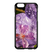 Wet Flower Black Hard Plastic Case for iPhone 6 by Mick Agterberg