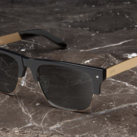9FIVE Watson 2 Black & Gold Shades