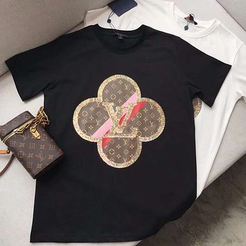 Louis Vuitton LV Sequins cotton t-shirt