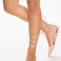 Pointy Strap Ballerina, NLY Shoes