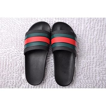 shosouvenir :Gucci Casual Fashion men and women Sandal