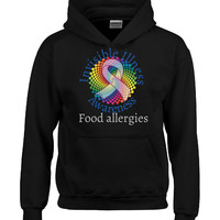 Invisible Illnesses Awareness Food allergies  - Hoodie