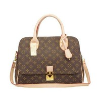 ONETOW Louis Vuitton LV Women Fashion Leather Tote Satchel Handbag Shoulder Bag Crossbody