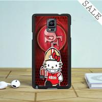 49ers Hello Kitty Samsung Galaxy Note 4 | 5 Case