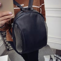 College On Sale Stylish Hot Deal Back To School Comfort Winter Korean Casual Fashion Backpack [6583211847]