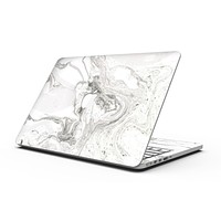 Mixtured Gray v3 Textured Marble - MacBook Pro with Retina Display Full-Coverage Skin Kit