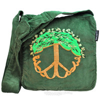 Tree of Life Corduroy Shoulder Bag on Sale for $11.99 at HippieShop.com