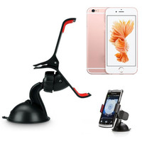 Reliable Universal Universal Car Windshield Mount Stand Holder For iPhone 5S 6S 6 Plus Phone GPS