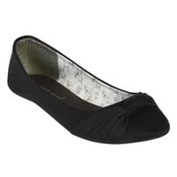 Jersey Knot Ballet Flat   Shop Shoes at Wet Seal