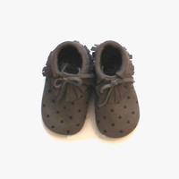 Tocoto Vintage Baby Bootie in Star Print - W0315