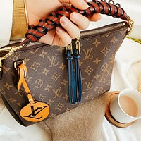 Louis Vuitton LV Women Shopping Bag Leather Handbag Crossbody Satchel Shoulder Bag