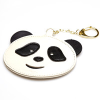 Panda Bear Faux Leather Key Chain | Wet Seal