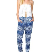 Easy Tribal Slouchy Pants