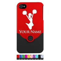 Personalized Case/Cover for iPhone 4/4S - CHEERLEADER, CHEER LEADER - Laser Engraved for Free