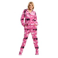 Buy KISS Christine Hooded Adult Onesuits   World's Best Pajamas