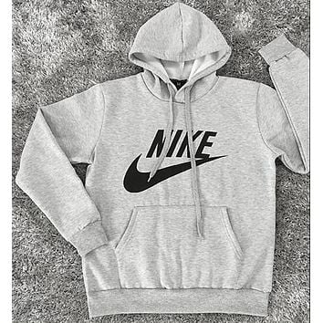NIKE Women Fashion Hooded Top Sweatshirt Sweater Pullover