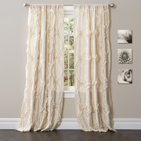 Avon Window Curtain Ivory
