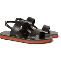 Gucci - Strapped Leather Sandals   MR PORTER