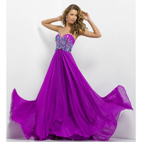Blush 2014 Prom Dresses - Orchid Strapless Sweetheart Prom Dress