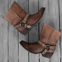 Corral Fango Honey Boot