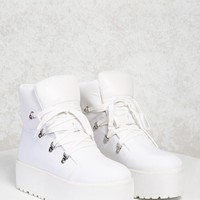 High-Top Platform Sneakers