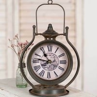 Rustic Tabletop Clock
