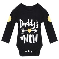 Toddler Baby Boys Girls Romper Jumpsuit Kids Halloween Clothes Outfits