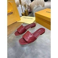 LV Louis Vuitton  Fashion Men Women's Casual Running Sport Shoes Sneakers Slipper Sandals High Heels Shoes
