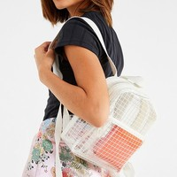 Transparent Grid Mini Backpack | Urban Outfitters