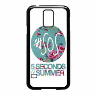 5 Seconds Of Summer Floral Pink Samsung Galaxy S5 Case