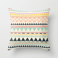 coloring book Throw Pillow by SpinL