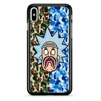 Rick And Morty Bape iPhone X Case