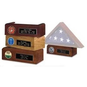 Flag Connections, American made Pedestal for Display Flag Shadow box.