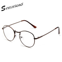 2017 Women's Fashion Alloy Optical Clear Lens Glasses Frames Vintage Womens Eyeglasses oculos de grau feminino Spectacles Frame